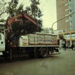 Los camiones sin control