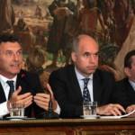 Macri presento proyecto para modificar Ley de Ministerios
