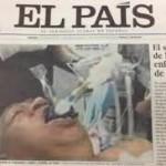 Publican una foto falsa de Chavez entubado