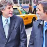 Boudou y Lorenzino frente a fondos buitre