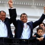 Correa resulto reelecto com mas del 56%