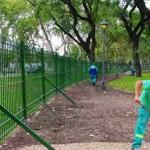 Despues de la polemica, se reabre el parque Centenario