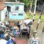 Arranco el censo de damnificados en Barrio Mitre