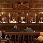 Las elecciones, a la Corte