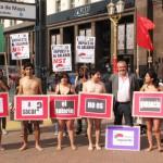 Bodart en campaña apela a los desnudos