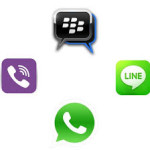 Ni chat BB ni Whats App, Line