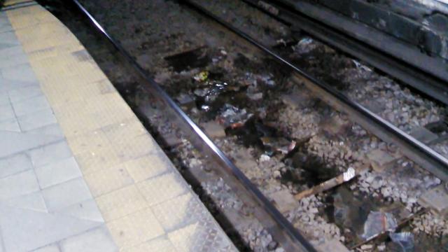 Goteras línea B, estación Florida
