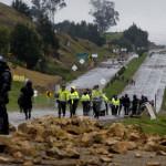 Toque de Queda y desabastecimiento en  Colombia