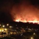 Incendio en la Reserva Ecológica