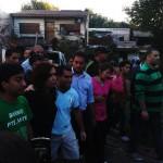 CFK y sus candidatos inauguran centro cultural en Villa 21-24