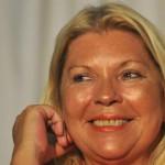 Carrió se entusiasmó y ya piensa en participar de las elecciones presidenciales de 2015
