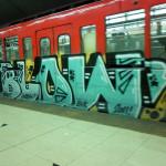 Producto argentino contra graffitis