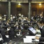 Jura de legisladores y elección de autoridades