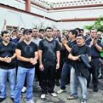 Protesta policial en La Plata