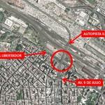 Nueva conexión en Retiro con la Autopista Illia