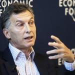 Desde Suiza, Macri, se declaró a favor de la devaluación