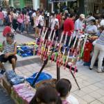 Venta clandestina en Once:  Desalojos y  allanamientos