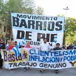 Barrios de Pie amenaza con cortar varios puntos de la Ciudad