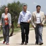 María Eugenia Vidal y Jorge Macri continúan recorriendo la Provincia