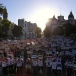 Homenaje a las victimas de la tragedia del Sarmiento