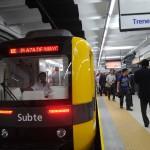 Subtes: Incorporarán nuevos coches y serán custodiados por la Metropolitana