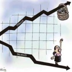 Por la inflación, se calcula una caída del 10% del salario real