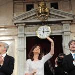 CFK repudió los cortes de tránsito y las tomas de tierra en la apertura de sesiones