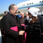 CFK en Italia, a la espera de su encuentro con el Papa