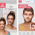 Las selfies, optimizadas con aplicaciones