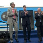 Un guiño para Randazzo: Cristina prometió una renovación total de los trenes del área metropolitana