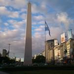 Acampe en el Obelisco y huelga de hambre