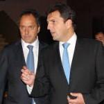 Luego del anuncio en materia de seguridad, Scioli subió en las encuestas y alcanza a Massa