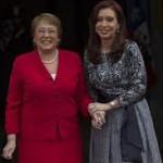 CFK y Bachelet retomaron acuerdos