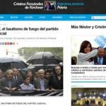 CFK y su balance sobre el 18F vía Twitter