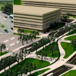 Ciudad Universitaria lucirá renovada desde marzo. Las obras incluyen una nueva estación del ferrocarril, refugios de colectivos y bicisendas,