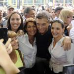 Vidal y Castrilli, acompañados por Macri, visitaron La Matanza