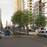 Comenzaron las obras para ensanchar la Avenida Rivadavia