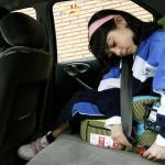 Seguridad Vial: menores de 12 deberán viajar en asiento trasero y con sistema de retención infantil