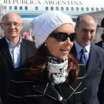 CFK ya aterrizó en Roma y espera la reunión con el Papa