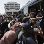 Frente a la desolación de refugiados sirios, Austria y Alemania abren sus fronteras