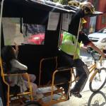 """""""Bicitaxis"""": sustentabilidad, fuentes de empleos y polémica"""