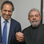 """Lula: """"Hincho para que Scioli gane las elecciones"""""""