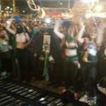 Marcha contra femicidios terminó con enfrentamiento entre grupos, heridos y represión