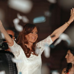 Cristina se despidió a plaza colmada