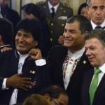 Fuerte presencia extranjera en un día histórico para Argentina