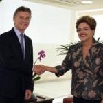 El presidente electo se reunió con Dilma y acordó agenda común