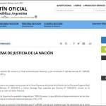 Macri nombró dos jueces para la Corte