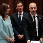 Larreta y Santilli juraron en la Legislatura Porteña