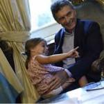 Por la lesión causada por Antonia, Macri no asistirá a la Cumbre Económica Mundial