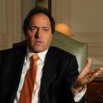 """Scioli: """"Yo no hubiese devaluado un 60% ni aumentado las tarifas el 500%"""""""